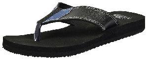 Mens Lite Black Diabetic & Orthopedic Mcp Flip Flop Slippers