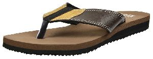 Mens Lite Brown Diabetic & Orthopedic Mcp Flip Flop Slippers