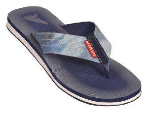 Mens Blue Denim Mcp Flip Flop Slippers