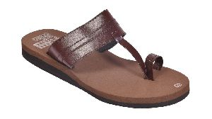 Women Podolite Naomi Brown Diabetic And Orthopedic Mcp Sandal
