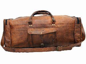 LB028MB Leather Travel Bag