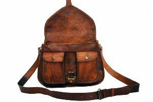 Ladies Leather Satchel Bags