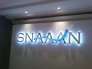Acp Sign Board With 3d Acrylic Letters