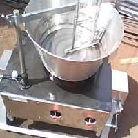 Steam Operated Khoa Making Machine