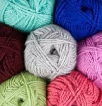 knitting acrylic yarns