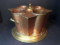brass wine coolers