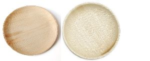 12 Inch Round Areca Leaf Plates
