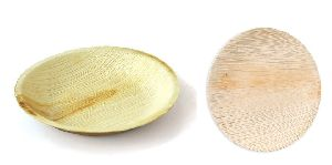 6 Inch Round Areca Leaf Plates