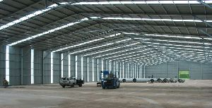 FACTORIES STEEL SHED