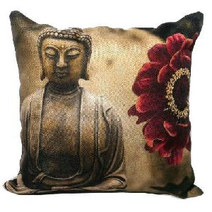 Buddha Print Cushion Covers