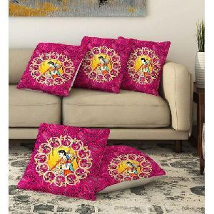Meerabai Print Cushion Covers