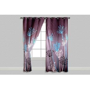 Polyester Window Curtains