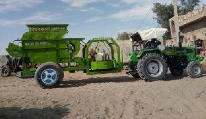 Tractor Groundnut Decorticator