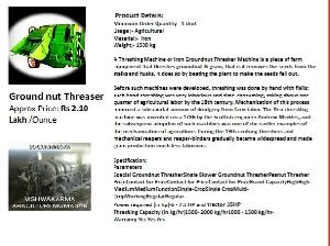 Groundnut Thresher