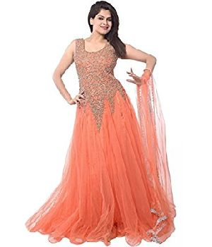 Ladies Designer Net Gown