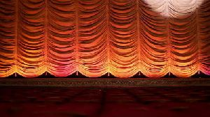 Automated Vertical Stage Curtain