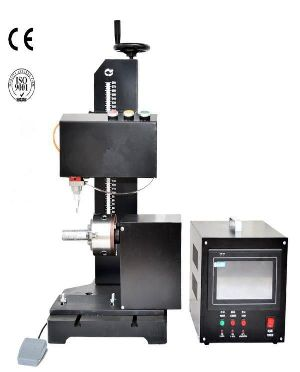 Yi-09tcy Dot Pin Pneumatic Marking Machine With Rotary Device