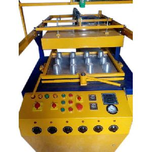 Semi Automatic Plastic Glass Making Machine