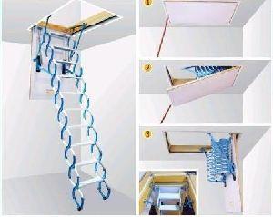 Loft Folding Ladder