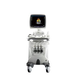 Cardiology performance color Doppler system