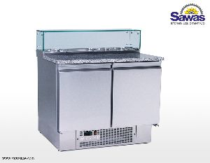Salad Preparation Chiller Refrigeration Equipment