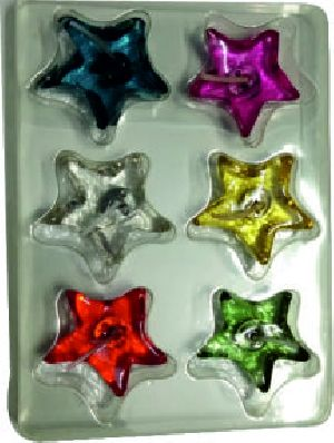 Star-shaped Gel Candles