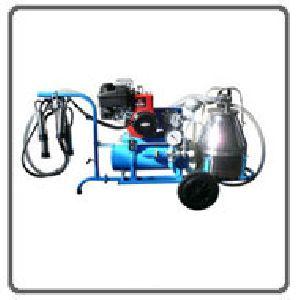 Petrol Engine Milking Machine
