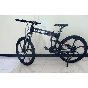 Foldable Bicycle - Alloy Wheels Gym Machine