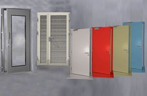Standard Steel Doors And Frame