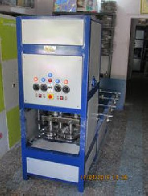 Single Die Double Roll Plate Making Machine
