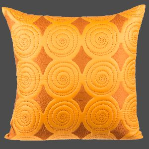 Faux Silk Quilted Cushion Cover
