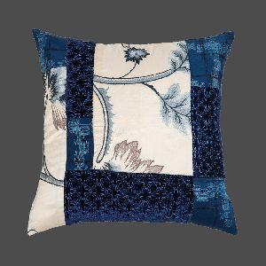 Patchwork Silk Cushion Cover