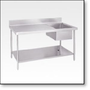Preparation Table With Sink