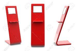 dual lcd kiosk enclosure