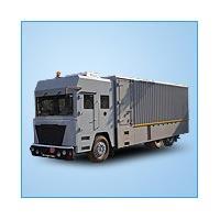 Bullet Proof Delivery Van