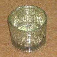 Diamond Glass Tealight Holder