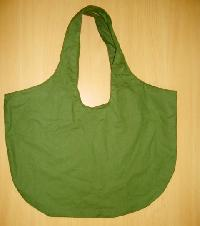 green dyed bag