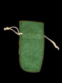 green perfume bag