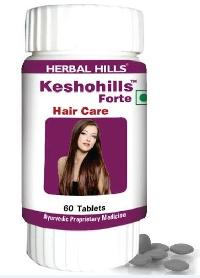 Hair Care Keshohills Forte - 60 Tablets