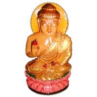 Wooden God Statue (wooden Buddha)
