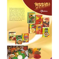 Spices, Food Products