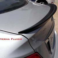 Verna Fluidic Rear Lip Spoiler