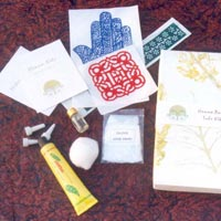 henna natural paste tube kit