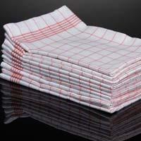 Striped Cotton Kitchen Towels