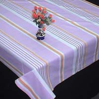 Striped Cotton Table Cloths
