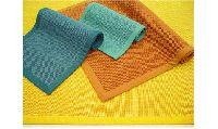 Cotton Border Jute Full Colour Rug