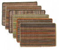 Surgical Webbing Stripe Jute rug
