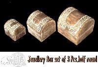 Wooden Jewellery Box - 001