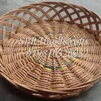 Oval Cane Basket without Handle