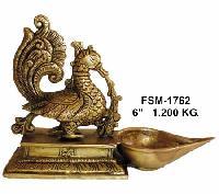 Bd-01 Brass Bird Diya